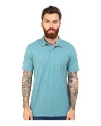 Volcom | Blue Wowzer Polo for Men | Lyst