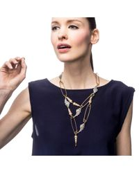 Lulu Frost | Metallic Kinship Pearl Necklace | Lyst