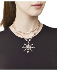 Arme De L'Amour | Metallic Star Necklace | Lyst