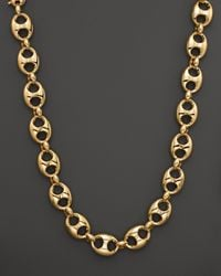 Gucci | Metallic Marina Chain Necklace in 18k Yellow Gold | Lyst