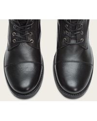 Frye - Black Erin Leather Ankle Boots - Lyst