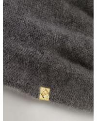 CA4LA - Gray Slouchy Cashmere-Blend Beanie for Men - Lyst