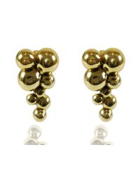 Rachael Ruddick | Metallic Bubble Earrings | Lyst