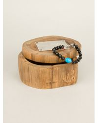 Aaron Jah Stone Black Root Chakra Bracelet