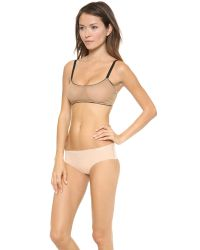 Top Secret - Natural Double Agent Stretchlace Camisole - Lyst