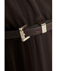 MICHAEL Michael Kors Brown Stretch-Jersey Jumpsuit