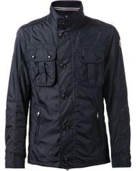 Moncler   Blue 'Mate' Jacket for Men   Lyst