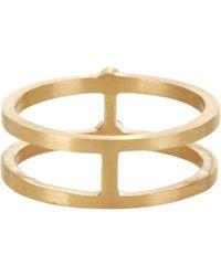 Sophie Bille Brahe Metallic Diamond & Gold Minor Constellation Midi Ring