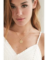 Forever 21 - Metallic Moon And Lola Small Dalton A Necklace - Lyst