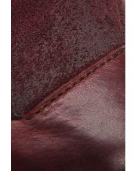 Frye | Purple Carson Tab Ballet | Lyst