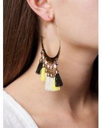 Isabel Marant - Orange Tassel Earrings - Lyst