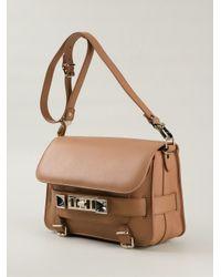 Proenza Schouler | Brown PS11 Medium Calf-Leather Shoulder Bag | Lyst