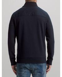 BOSS Blue Boss Orange Zidanne 1 Cotton Sweatshirt Jacket for men