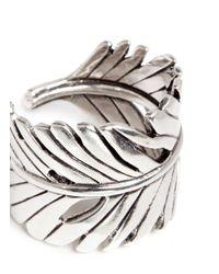 Philippe Audibert | Metallic 'zunis' Palm Leaf Ring | Lyst