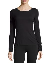 Wolford   Black Pure Long-sleeve Pullover Top   Lyst