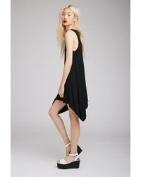 Forever 21 - Black Knit Trapeze Dress - Lyst