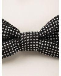 Paul Smith - Black Star Bow Tie for Men - Lyst