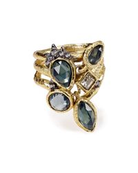 Alexis Bittar - Multicolor Elements Confetti Charm Cocktail Ring - Lyst