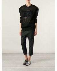Stella McCartney Black Horse Sweater