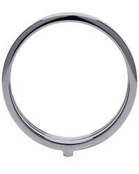 Repossi Metallic White Gold Triple Band Berbere Ring