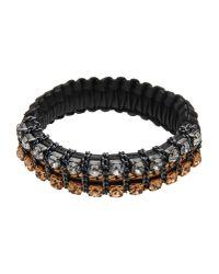 Max Mara Studio | Black Bracelet | Lyst