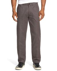 Tommy Bahama | Brown 'hilo Heather' Pima Cotton Trousers for Men | Lyst