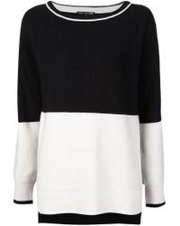 Rag & Bone - Black 'pamela' Sweater - Lyst