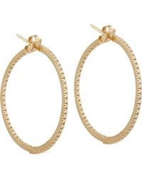 Sidney Garber | Metallic the Perfect Round Hoop Earrings | Lyst