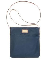 Calvin Klein - Blue Dressy Nylon Crossbody - Lyst