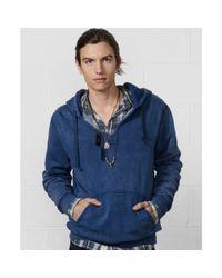 Denim & Supply Ralph Lauren | Blue Indigo Vintage Hoodie for Men | Lyst