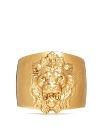 Ela Stone | Metallic 'lion' Metal Appliqué Cuff | Lyst