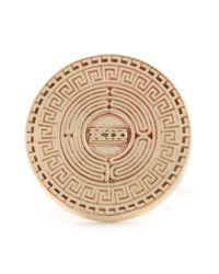 KTZ | Metallic Labyrinth Ring for Men | Lyst