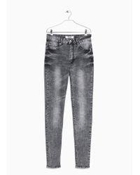 Mango | Gray Skinny Noa Jeans | Lyst