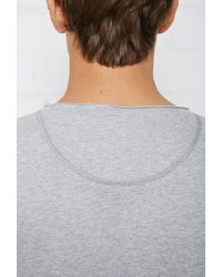 Forever 21 - Gray Bread And Boxers Relaxed Crew Neck Tee for Men - Lyst