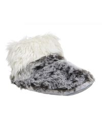 Bedroom Athletics Gray Jesse Short Slipper Boots