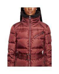 Ralph Lauren - Pink Belted Down Coat - Lyst