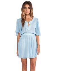 Jen's Pirate Booty Blue Sahara Mini Dress