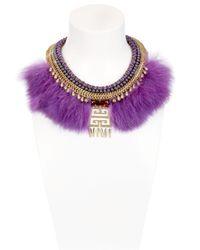 Fiona Paxton | Purple Crazie Mazie Necklace | Lyst