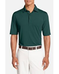 Bobby Jones | Green 'xh20 Solid' Regular Fit Four-way Stretch Golf Polo for Men | Lyst