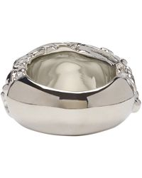 Acne | Metallic Silver Marioline Ring | Lyst
