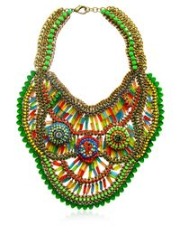 Sveva Collection | Multicolor Clorofilla Necklace | Lyst