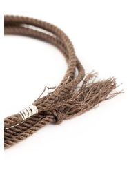 1-100 | Brown '87' Bracelet | Lyst