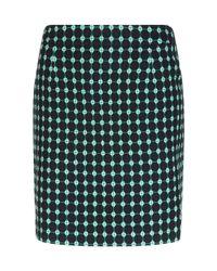 Hobbs | Green Tillie Skirt | Lyst