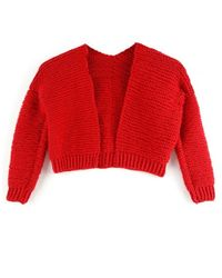 Wool And The Gang | Red Mini Vivienne Cardigan | Lyst