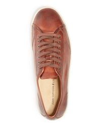 John Varvatos Brown John Varvatos Hattan Sneakers for men