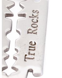 True Rocks | Metallic 'razor Blade' Necklace for Men | Lyst