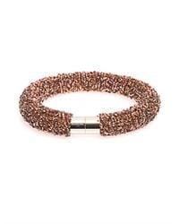 Balenciaga - Pink Raindrop Bead-Embellished Choker - Lyst