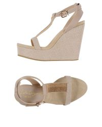 Lola Cruz - Natural Sandals - Lyst