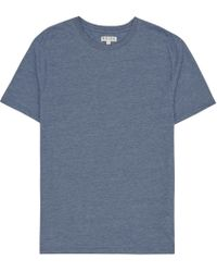 Reiss | Blue Bless Marl Crew Neck T-shirt for Men | Lyst