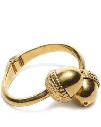 Alexander McQueen Metallic Acorn Bracelet